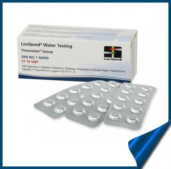Таблетки DPD4 Oxygen (Активный Кислород) для тестера
